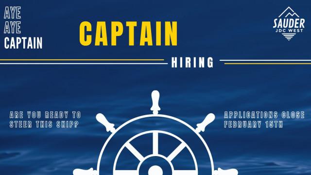 JDC West 2021 Captain Hiring